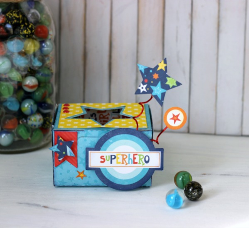 Superhero Favour Box by Holly Gagnon