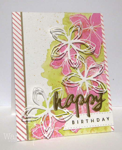 Happy Birthday Card designed by Wanda Cullen