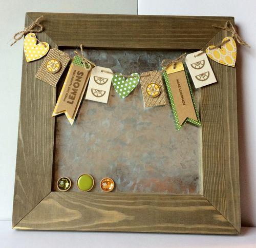 Make Lemonade Galvanized Board by Patty Folchert