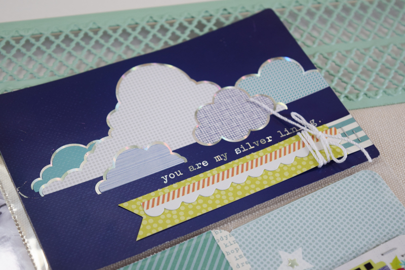 Boy Themed Pocket Page layout by @jbckadams for @scrapbookexpo