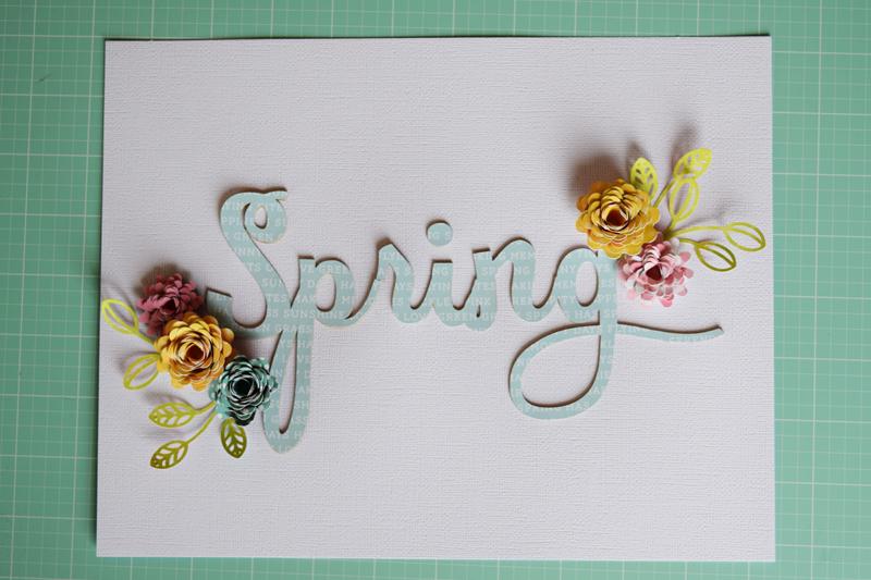 DIY Spring Home Decor by @jbckadams for @scrapbookexpo