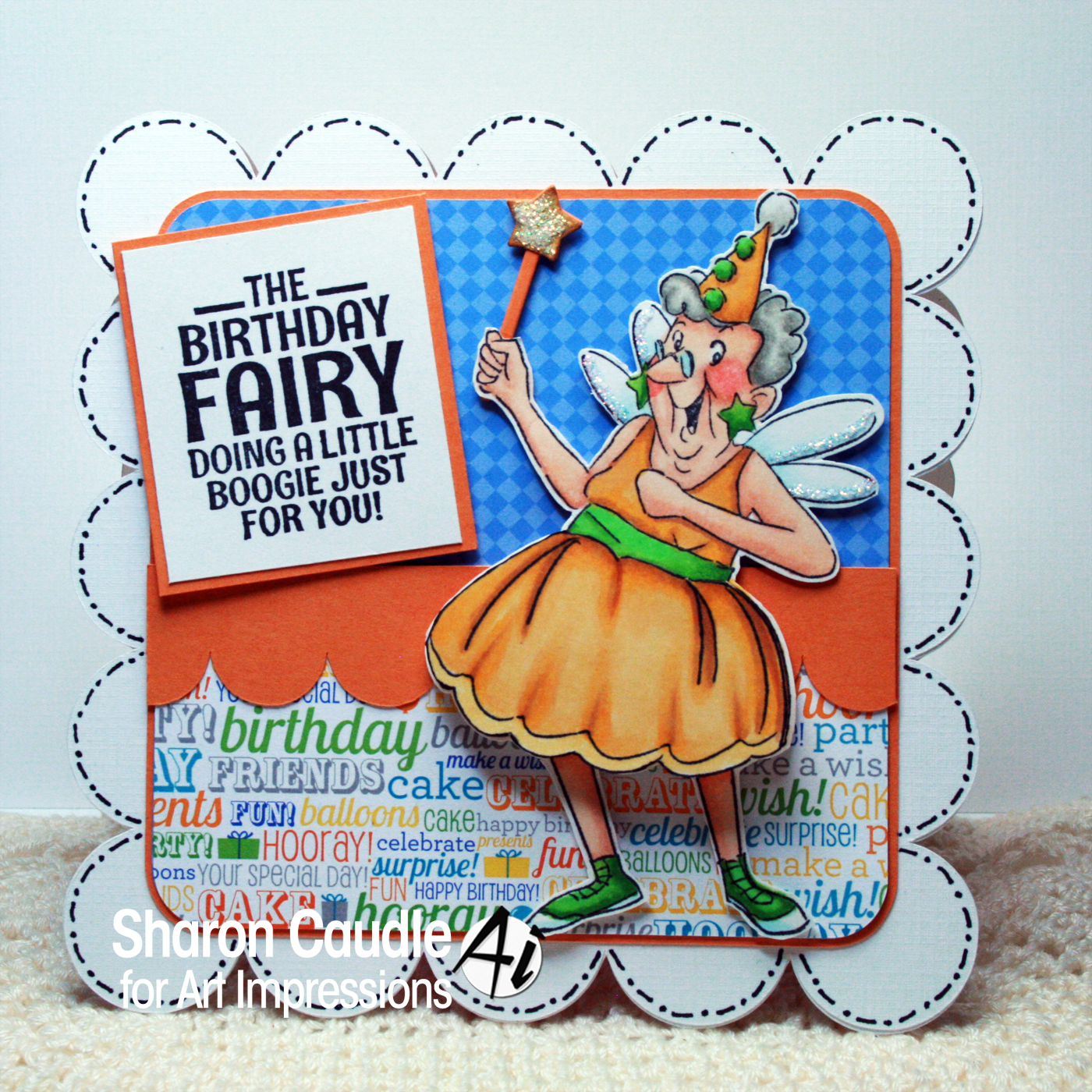 Birthday Fairy by Sharon Caudle