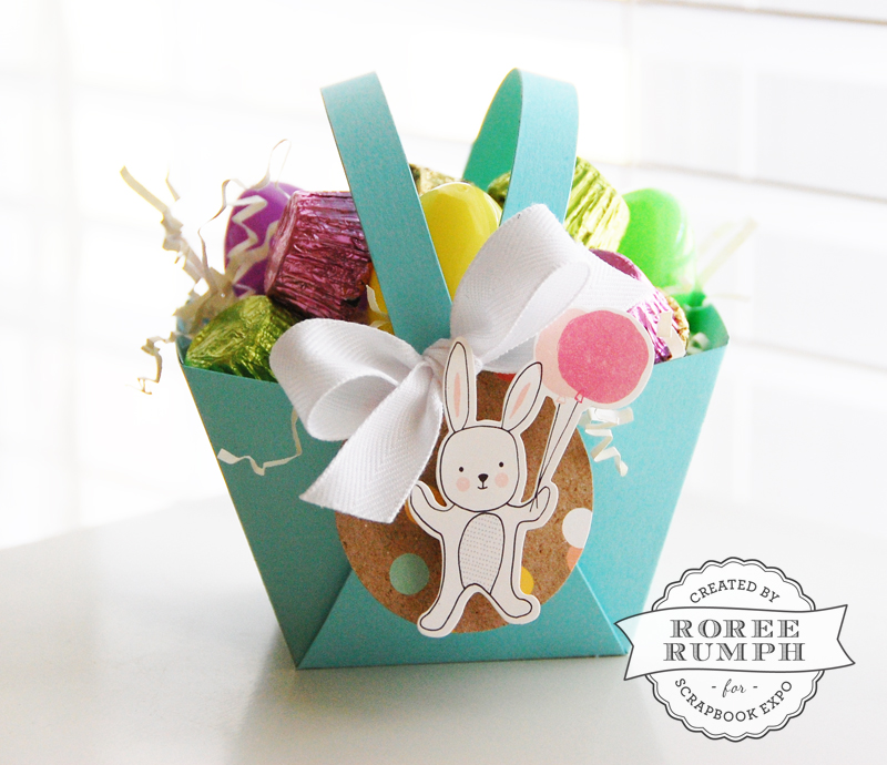 roree rumph_die cut_easter_basket_bunny_tag