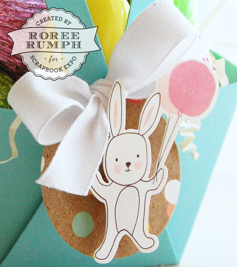 roree rumph_die cut_easter_basket_bunny_tag_closeup
