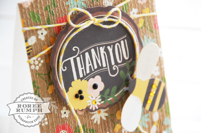 roree rumph_quiliting-inspired_machine-stitched_thank you_card_closeup 1