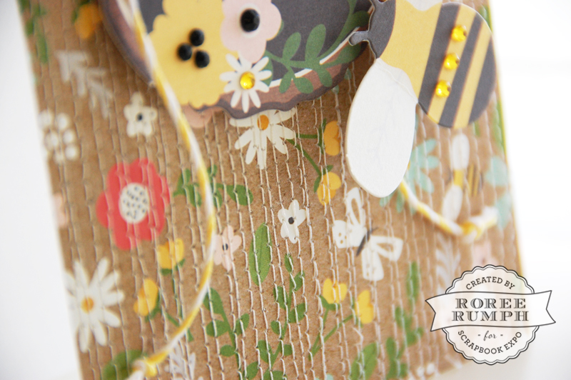 roree rumph_quiliting-inspired_machine-stitched_thank you_card_closeup 2