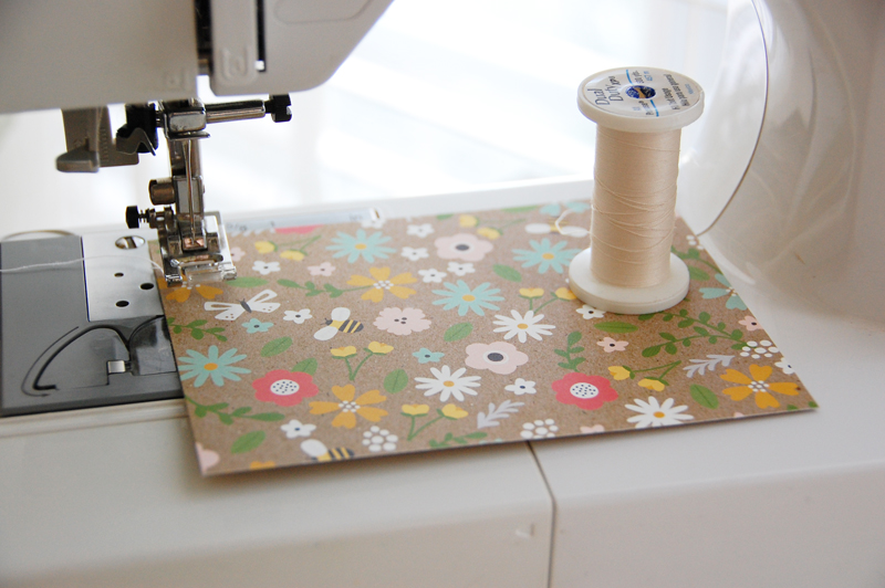 roree rumph_quiliting-inspired_machine-stitched_thank you_card_step1