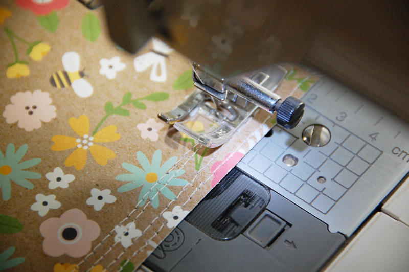 roree rumph_quiliting-inspired_machine-stitched_thank you_card_step2