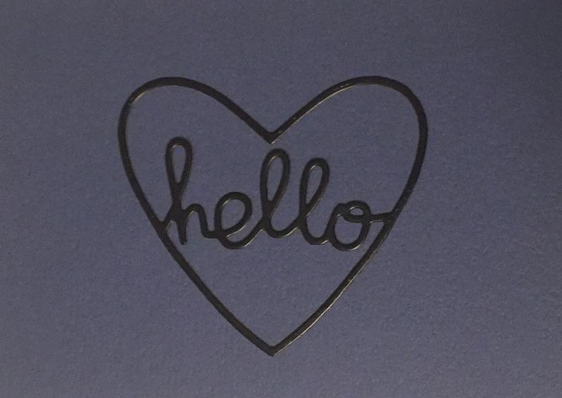Therm O Web - Hello card