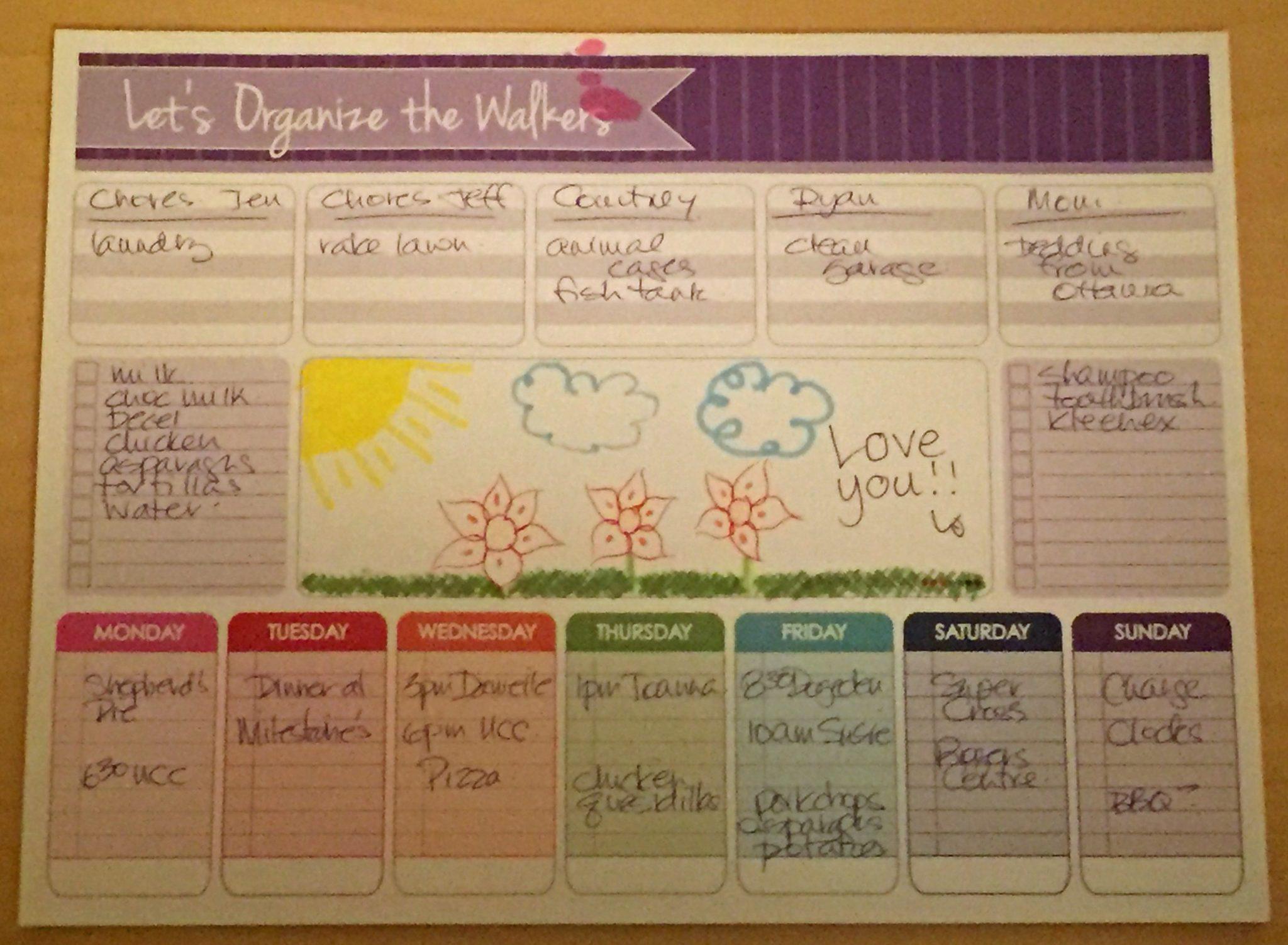 Walker Calendar
