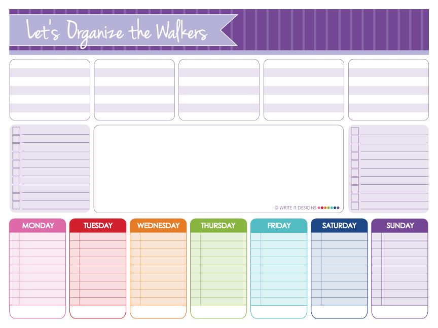 Write It Designs Notebooks - Walker