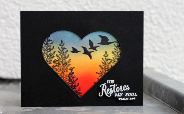 Sunset – Beautiful Negativity card
