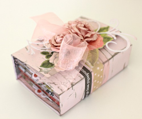 Cottage Rose Mini Album