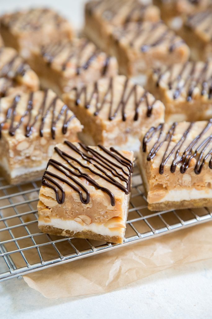 Peanut Marshmallow Bars