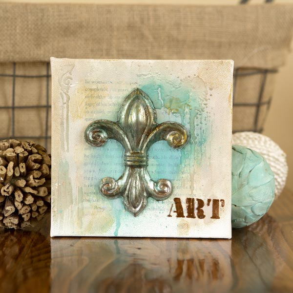 _Art Anthology Fleur De Lis Canvas
