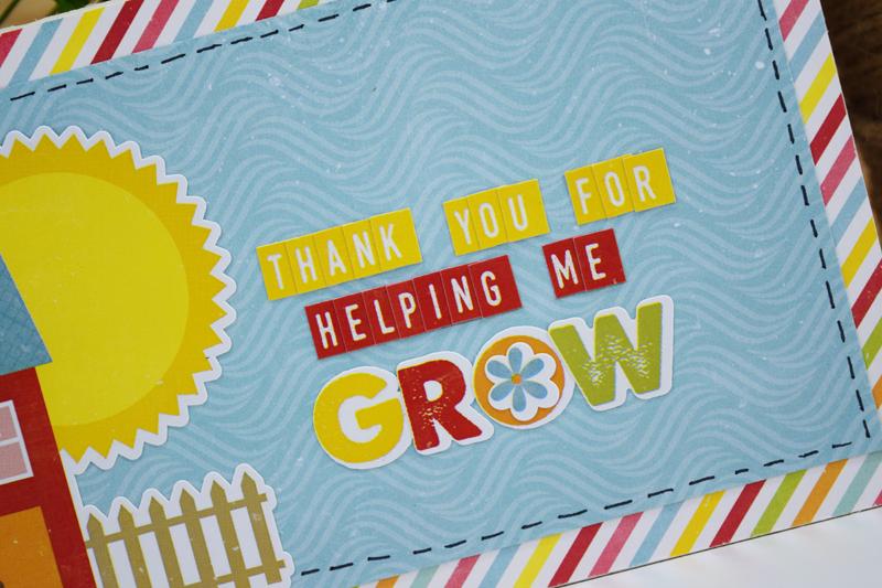 Teacher Appreciation Gift by @jbckadams for @scrapbookexpo