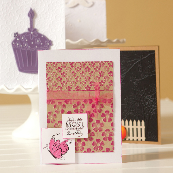 _Embossing Ideas - 4 Creative Cards