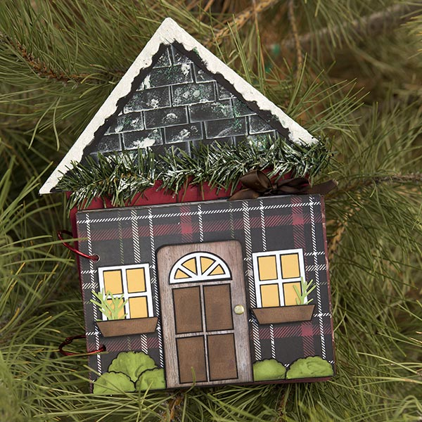 _Home for the Holidays Chipboard Album