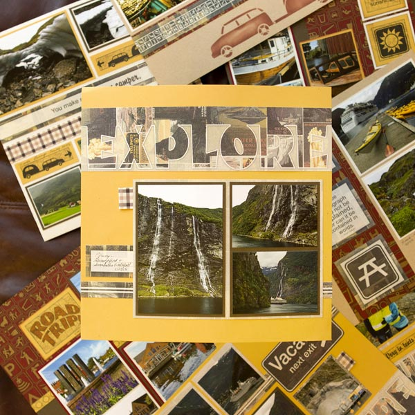 _Scrapbooking Without Scraps – National Parks