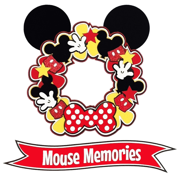 Paper Wizard MOUSY WREATH RED