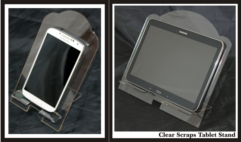 Clear Scraps - Phone & Tablet Stand