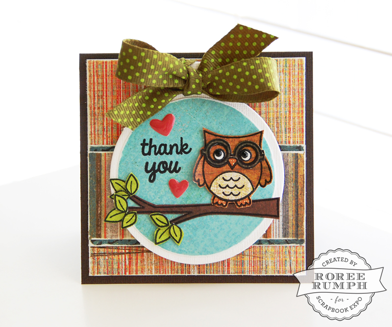 roree rumph_stamped_paper pieced_thank you_card