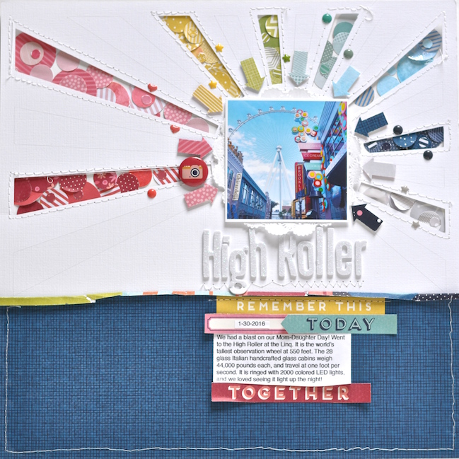 high roller layout by Leigh Ann Odynski