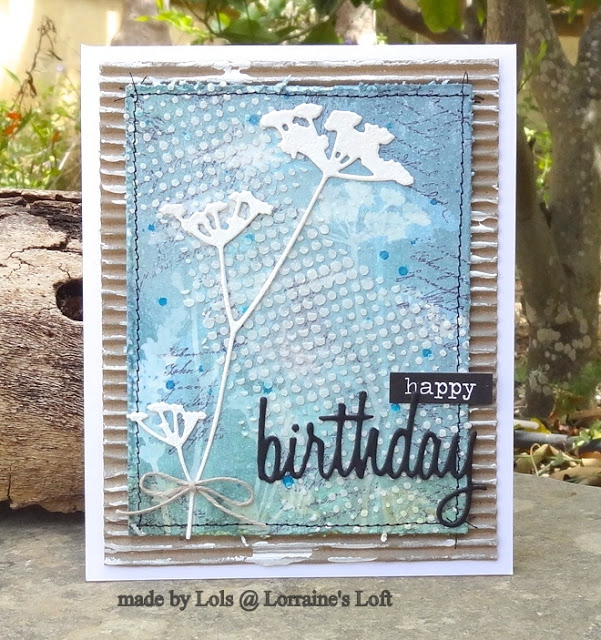 Happy Birthday By Lorraine A