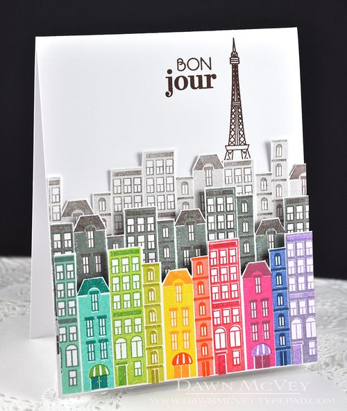 Bon Jour by Dawn McVey