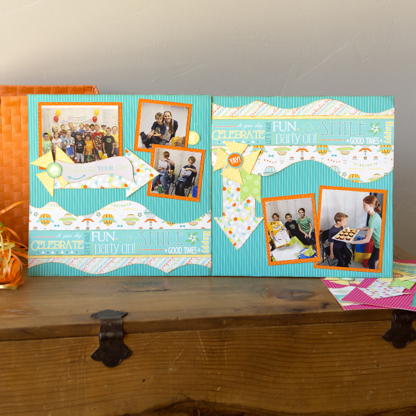 _It's Your Day Scrapbook Layout and Card