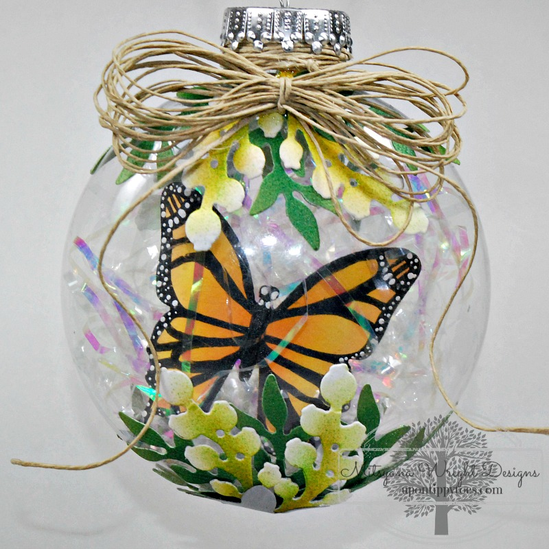 Butterfly Ornament by Mitsyana Wright