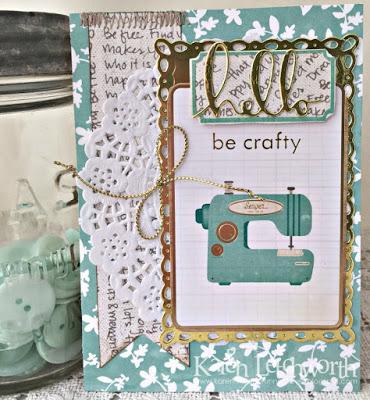 Be Crafty card