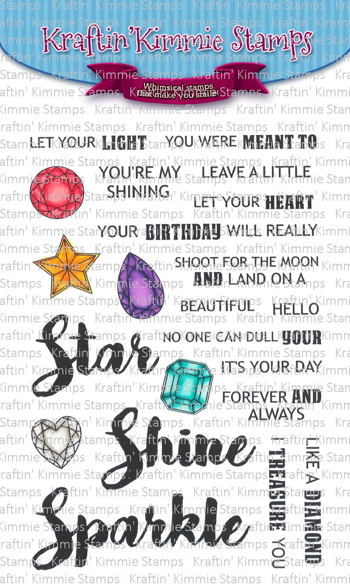 Let Your Light Shine by Kraftin Kimmie Stamps