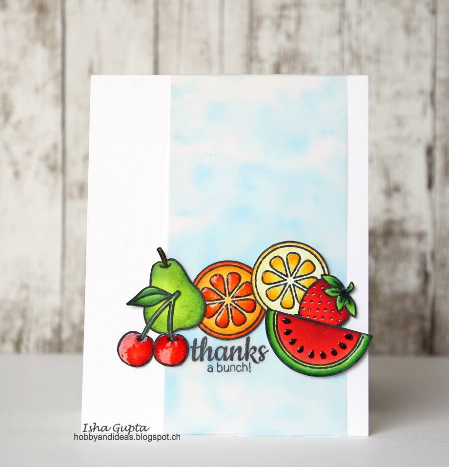 Thanks a bunch card by Isha Gupta