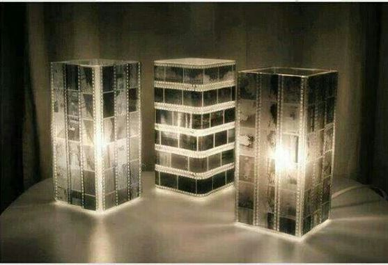film strip lampshade