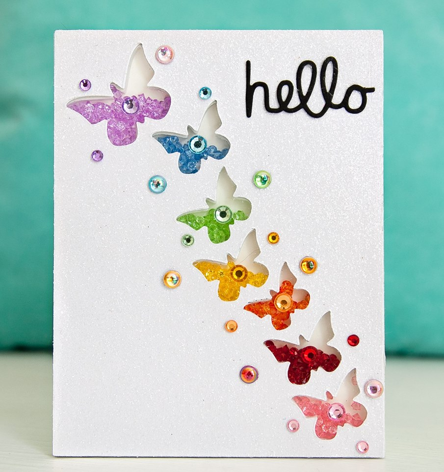 Hello card by Queen & Co.