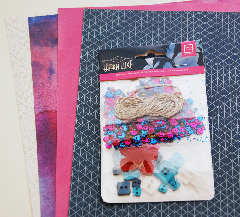 roree rumph_stitched_sequin_bead_border_card_step1