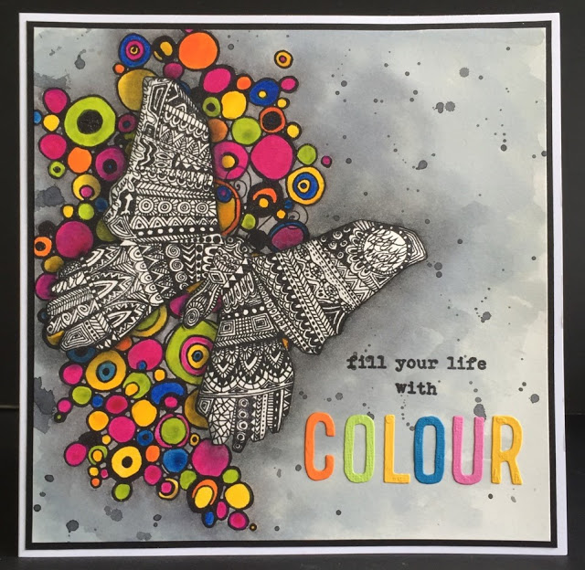 Fill your Life With Colour by Amanda Southern