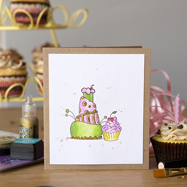 _Stamped & Sparkled Birthday Cards