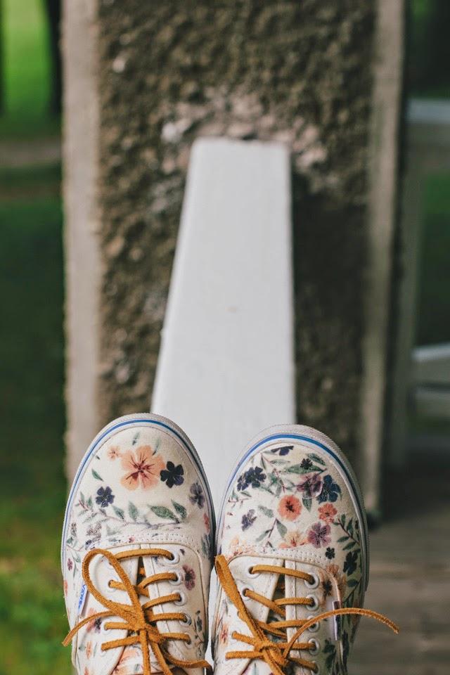 Floral Vans Restyle | DIY
