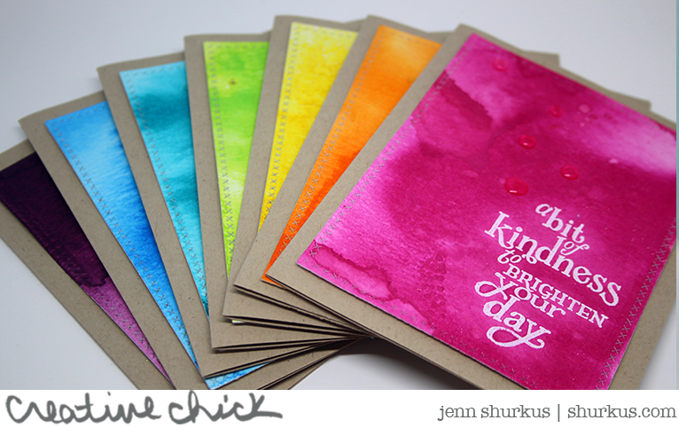 A Bit Of Kindness Card Set By Jenn Shurkus