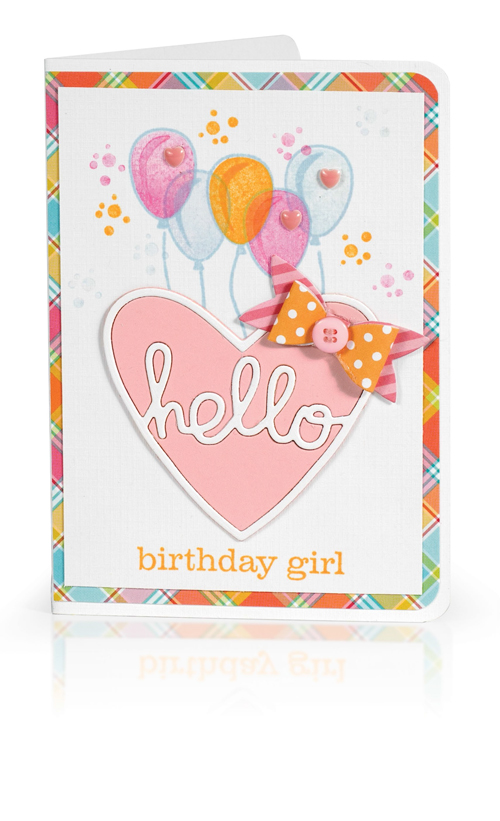 Hello Birthday Girl by Melissa Phillips