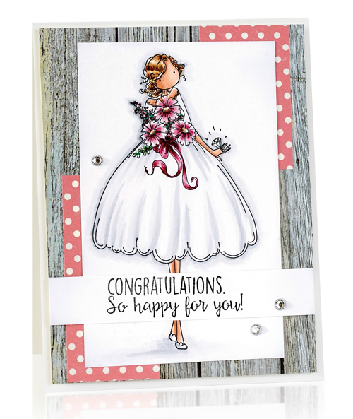 Congratulations card by Michele Boyer