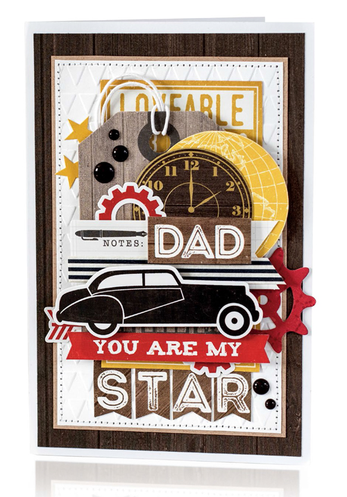 You Are My Star card by Anya Lunchenko