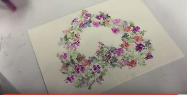 art impression heart wreath you tube video