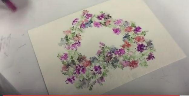 art impression heart wreath you tube video