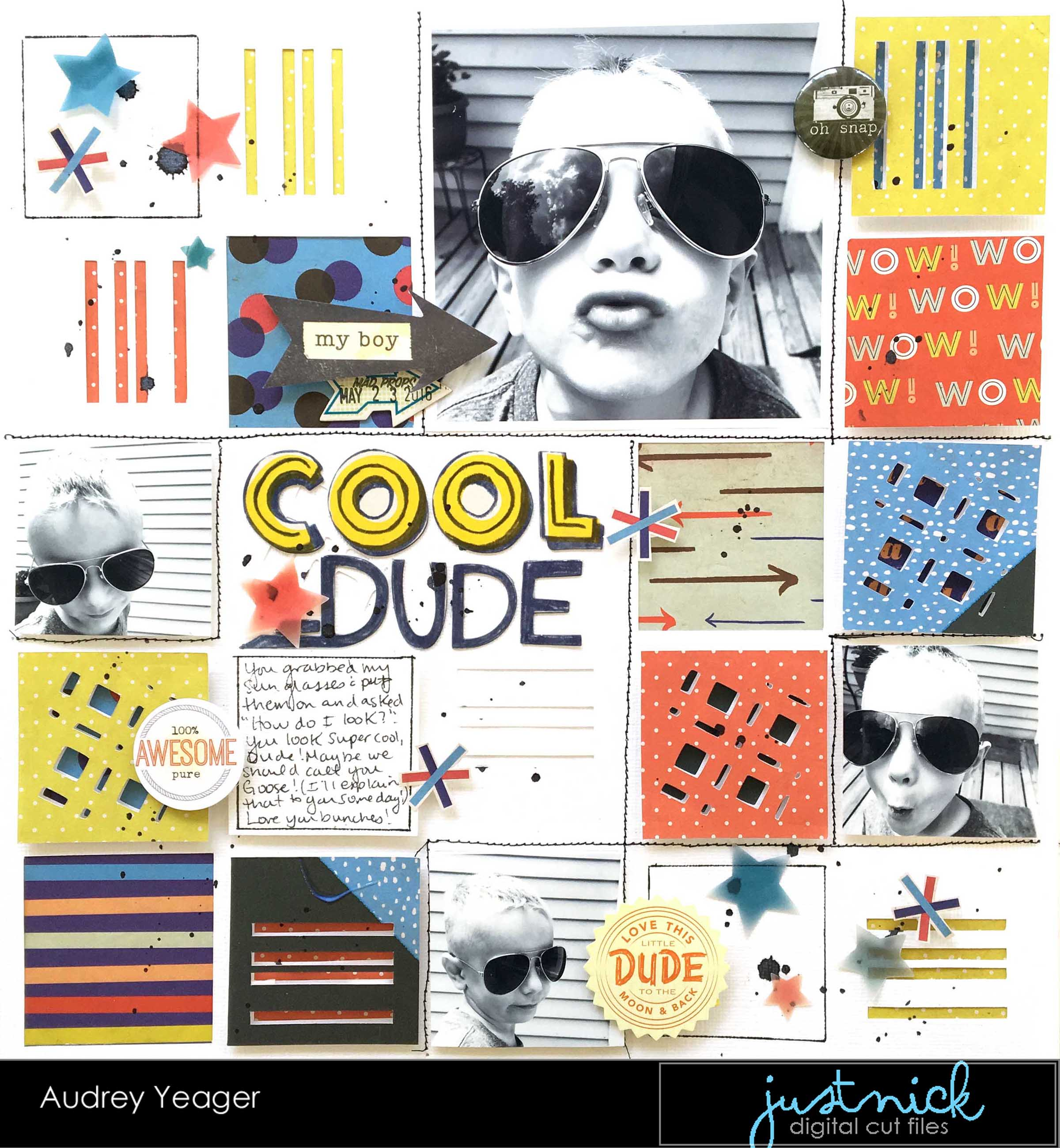 Cool Dude by Audrey Yeager