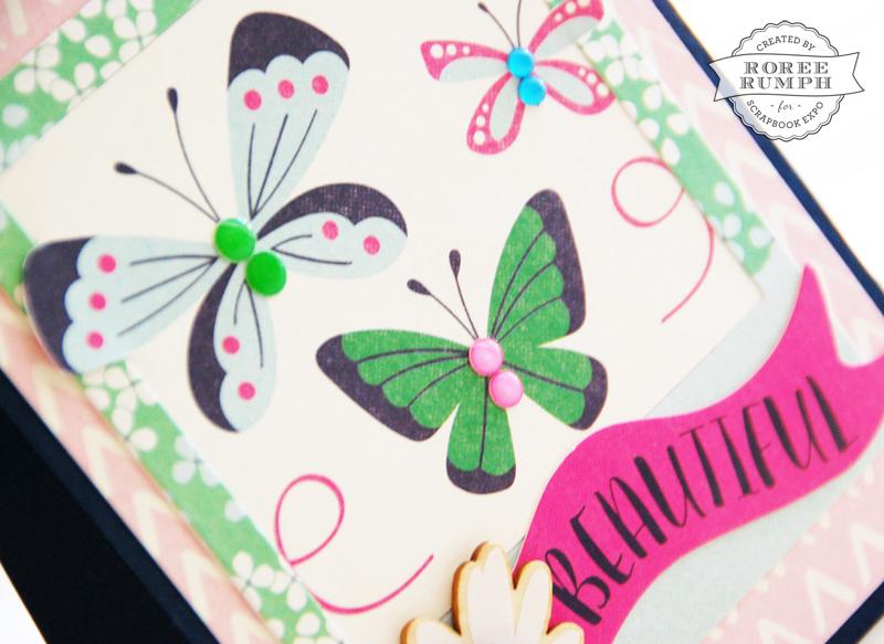roree rumph_fussy cut_butterflies card_detail