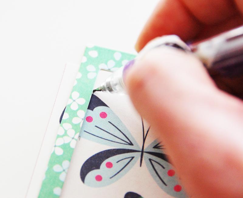 roree rumph_fussy cut_butterflies card_step3
