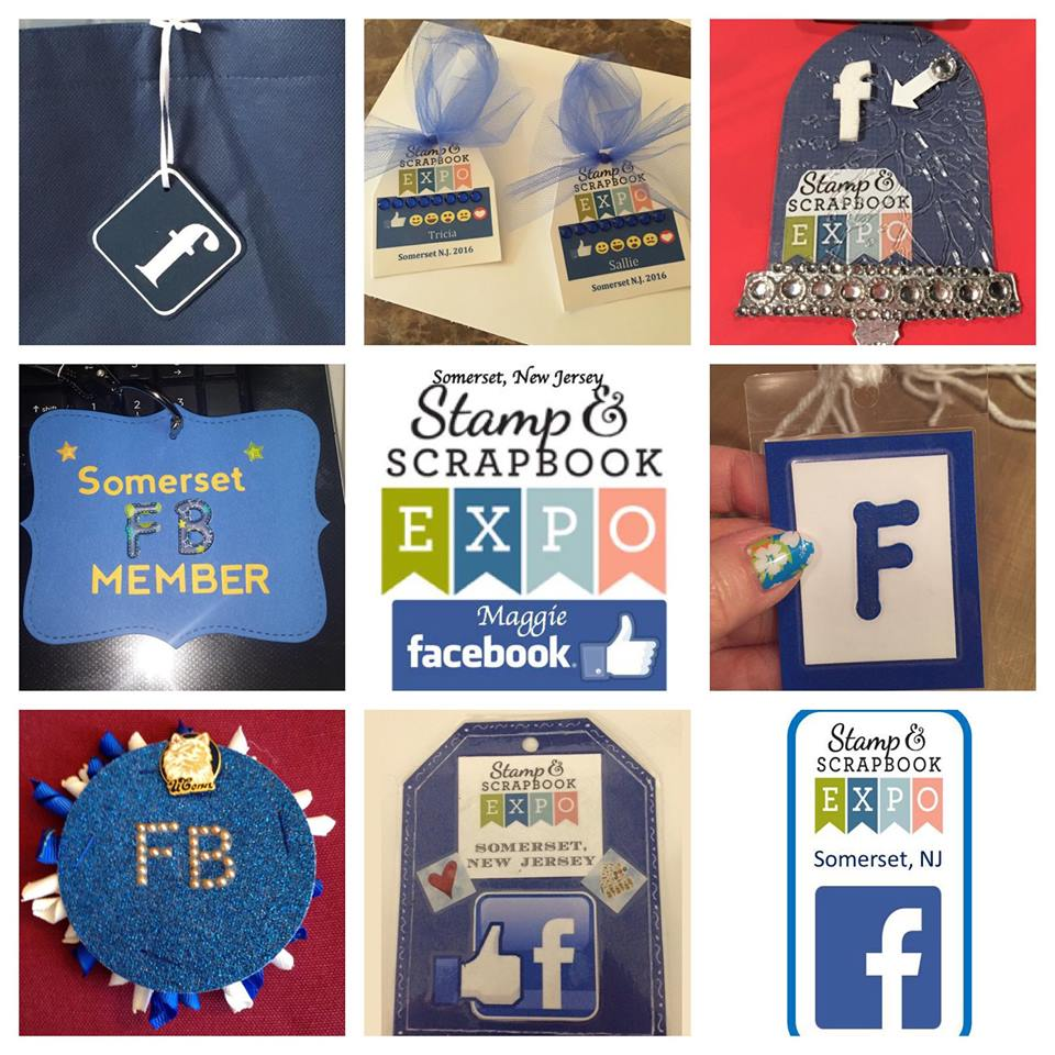 #SSBE2016 - Stamp & Scrapbook Expo Attendee Badges